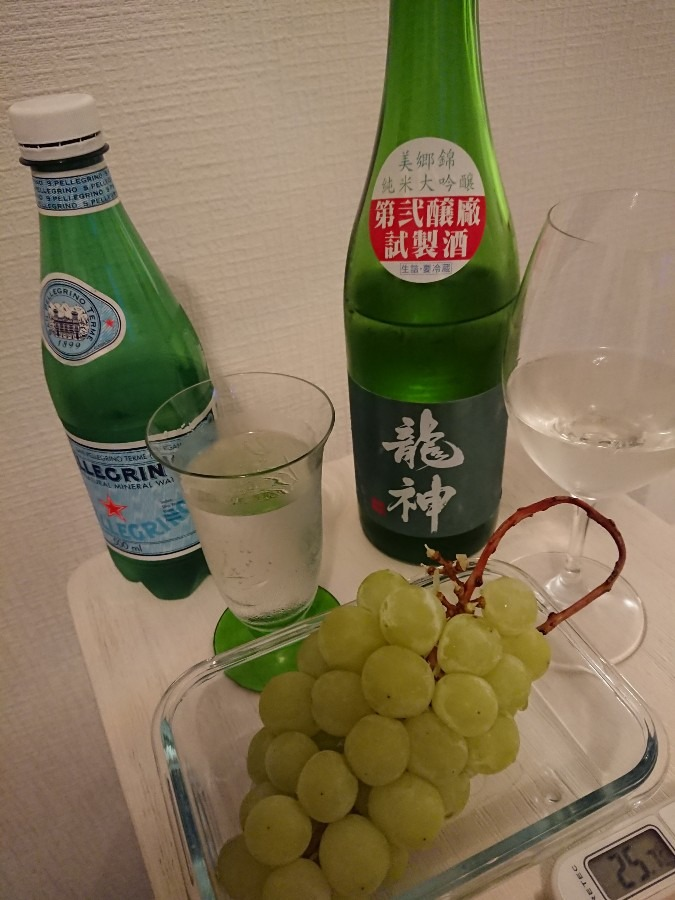 龍神 純米大吟醸 美郷錦 第弐醸廠 試製酒