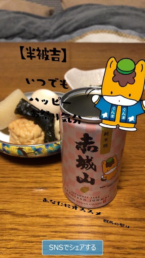 赤城山 純米酒